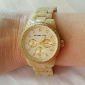 Michael Kors Jet Gold Horn MK-5039 Ladies Watch